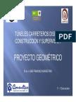 Proyecto Geometrico de tuneles