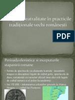 Inceputurile Teatrului in Romania