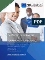Catálogo de Serviços & Formação Profissional