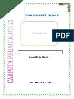 Carpeta Pedagogica Inicial 2017 Oficial