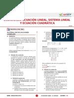 Ecuaciones 1,2,3