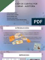 Examen de Cuentas Por Cobrar - Auditoria