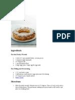 Paris Brest recipes.doc