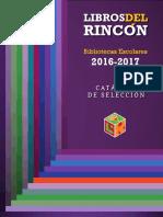 CATALOGO 2016 - 2017
