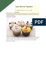 Diseños Cupcakes (internet)