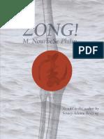 Philip, M NourbeSe - Zong! 2008