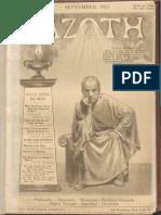 AZOTH Volume 1 Number 9 September 1917