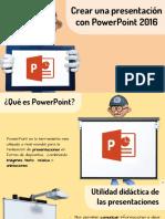Crear Una Presentación Con PowerPoint 2016