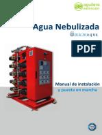 Agua Nebulizada - Microaqua-manual