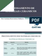 Aula 05_ Processamento de Materiais Ceramicos