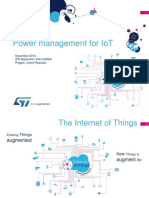 Power Management for IoT