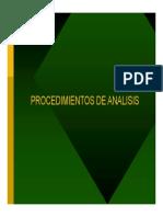 5 Procedimientos de Analisis y Diseño