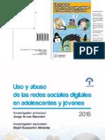 Uso y Abuso de Las Redes Sociales.2016