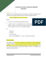19. Funciones de Busqueda, Filtro, Ordenacion, Impresion