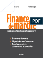 Finance de Marché Modele Mathématiques a Temps Discret