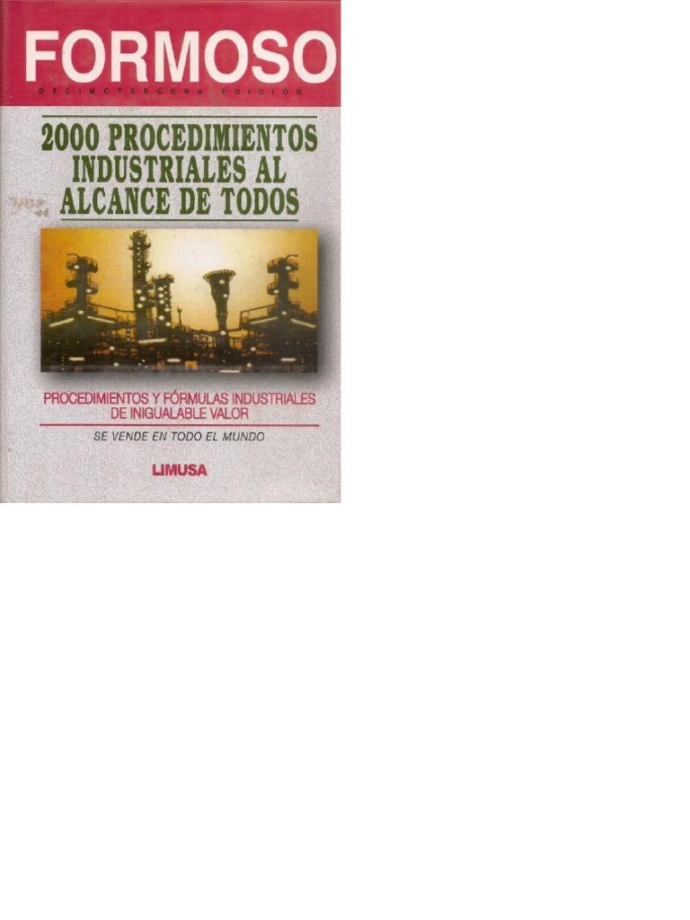 Formoso 2000 Procedimientos Industriales Pdf