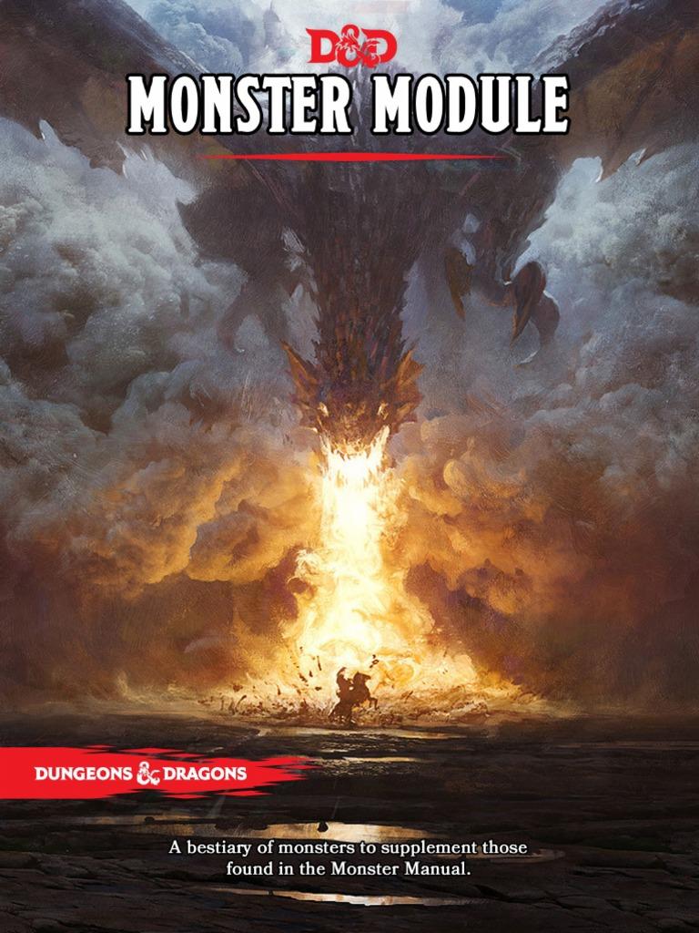 monster handbook predation dungeons dragons rh scribd com Monster Manual 2nd Edition Monster Manual 3.5 PDF