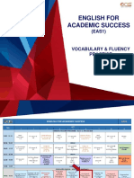 Vocabulary and Fluency Practice - Day 6