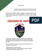Reseña Historica El Hatillo