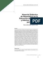 Santos Cade 2015 - Material Didactico de Matematica Para Jovenes y Adultos