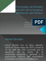 Postulados de Einstein