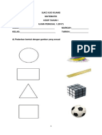 Soalan Exam Math PK3