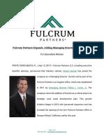 Monte Harrick Joins Fulcrum Partners Los Angeles