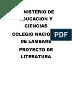 Ministerio de Educacion y Ciencias