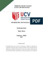 Test Jean Piaget