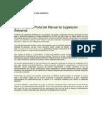 Contenidos de La Legislacion Ambiental