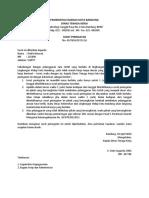 Surat Peringatan Tidak Masuk Kerja PNS