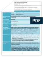 Hoja de Ruta Práctica Simulada Diseño Plan de Procesos (Momento 3)
