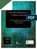 Direitos Humanos e Cultura Escolar