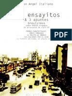 Dos ensayitos y 3 apuntes brevísimos - Juan Angel Italiano.pdf