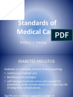 Standarts of Medical Care