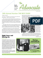 December 2006 Advocate Newsletter, Bicycle Alliance of Washington