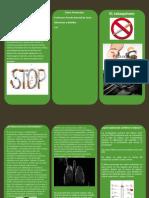 triptico del tabaquismo