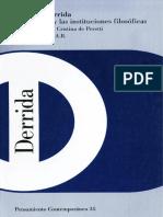 jacques Derrida El lenguaje y las instituciones filosóficas.pdf