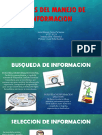 MANEJO DE INFORMACION