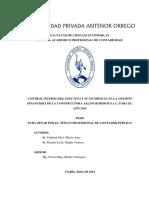 Carbajal Marita Control Interno Gestion Financiera