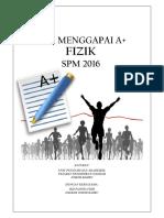 Bengkel Misi Mengapai A+ JKD Fizik 2016 (3)