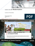Data Center Modernization Customer Presentation
