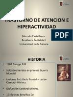 Trastorno de Atencion e Hiperactividad