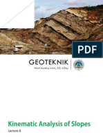 Geotek - 06 - Kinematic Analysis of Slopes..pdf