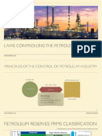 Laws Controlllign the Petroleum Industry (1)