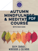Autumn Meditation Workbook