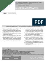 Quadrix 2017 Crb 6 Regiao Auxiliar Administrativo Prova