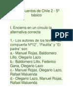 Guía Cuentos de Chile 2