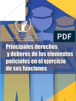 Comisión Nacional de Los Derechos Humanos. (2014). Principales Derechos y Deberes de Los Elementos Policiales en El Ejercicio de Sus Funciones