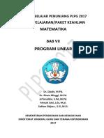 Bab 7 Program Linear